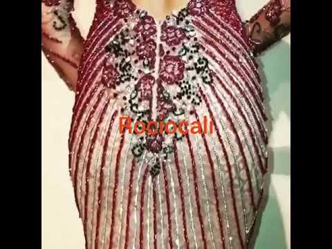 c9ca7f4520c0 Nuevo vestido bordado en canutillos y piedras de cristal en swarosky modas  rociocali