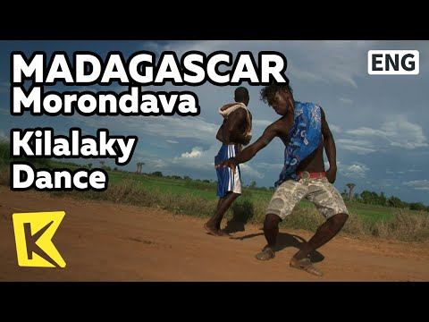 【K】Madagascar Travel-Morondava[마다가스카르 여행-모론다바]끼 많은 청년의 킬라라키 댄스/Kilalaky Dance/Dance