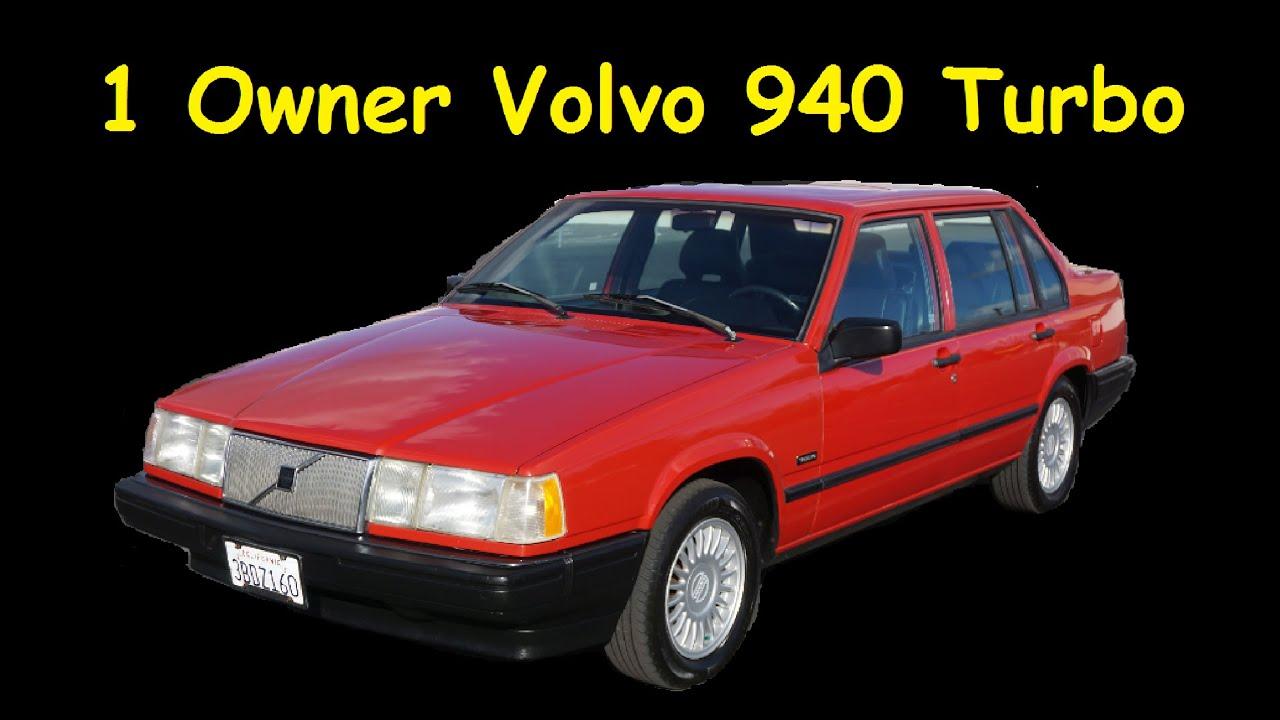 92 Volvo 940 Turbo 740 760 960 1 Owner Full Video Review - YouTube