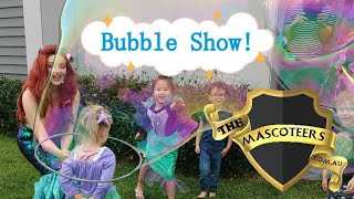 Bubble Time with a Mermaid!