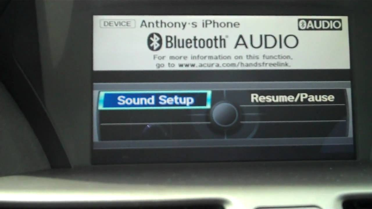 How to use Bluetooth Audio in your Acura - from Acura of Lynnwood