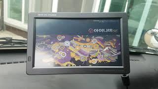 아이나비 NP500D 부팅영상