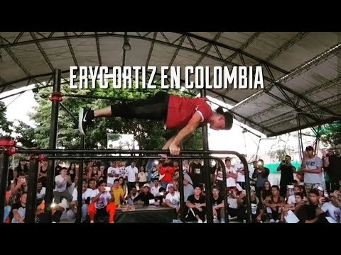 ERYC ORTIZ IN COLOMBIA!! 1:30 POWER COMBO!!