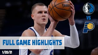 Kristaps Porzingis (27 points) Highlights vs. Indiana Pacers