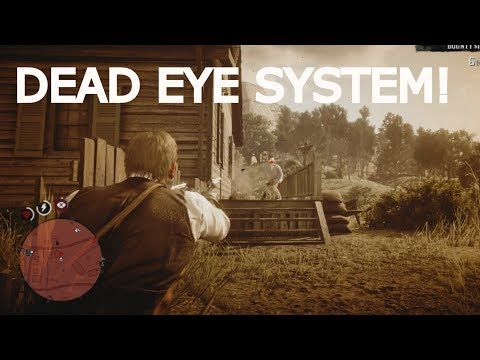 Red Dead Redemption 2 - How To Use Dead Eye System?