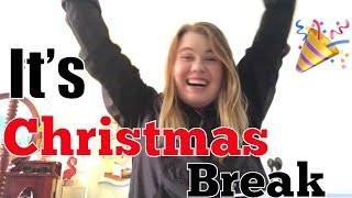 VLOGMAS Day 14: It's Christmas Break!!