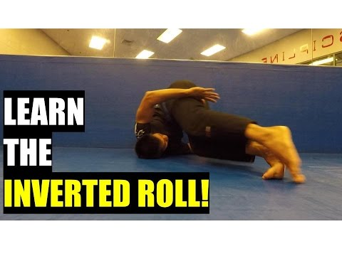How To Inverted Roll for BJJ Beginners