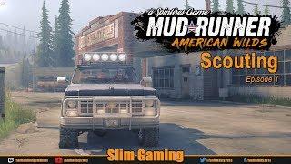 SPINTIRES - MudRunner - American Wilds Episode 1