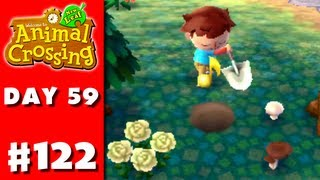 Animal Crossing: New Leaf - Part 122 - Planting a Note (Nintendo 3DS Gameplay Walkthrough Day 59)