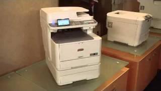 Oki MC361 & MC561 Colour MultiFunction Printers