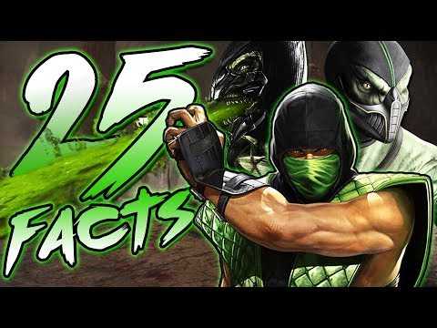 25 Facts About Reptile From Mortal Kombat That You Probably Didn't Know! (Khameleon + Chameleon) thumbnail