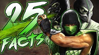 25 Facts About Reptile From Mortal Kombat That You Probably Didn't Know! (Khameleon + Chameleon)