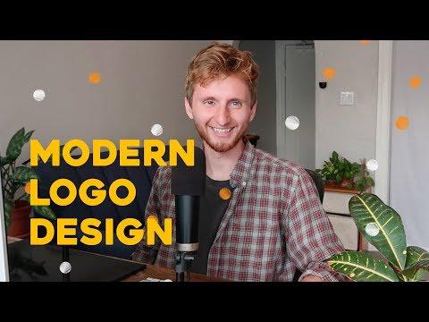 Modern Logo Design Tutorial - 2018