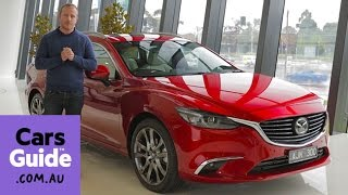 Mazda 6 Atenza 2016 review | first drive video