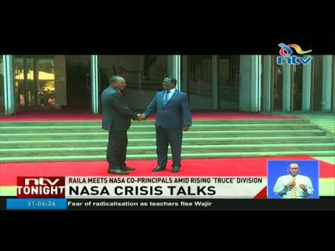 Raila tells Kalonzo and Mudavadi to alter their 2022 game plan and employ dialogue