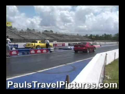Gainesville Raceway Drag Racing Video - Gainesville, FL