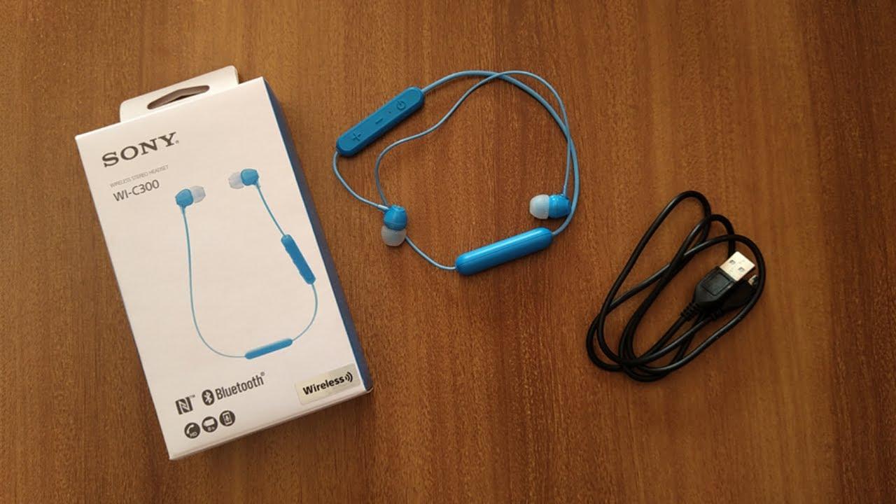 89fec634cda Sony WI-C300 | Unboxing | Best Bluetooth Earphones! - YouTube