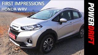 Honda WRV : First Impressions : PowerDrift
