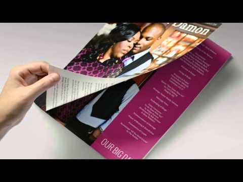 Why Choose The Album Factory Magazine Wedding Programs?