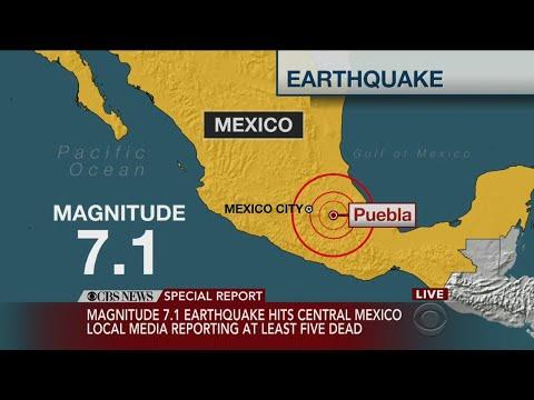 7.1 magnitude quake kills 2, collapses buildings in Mexico