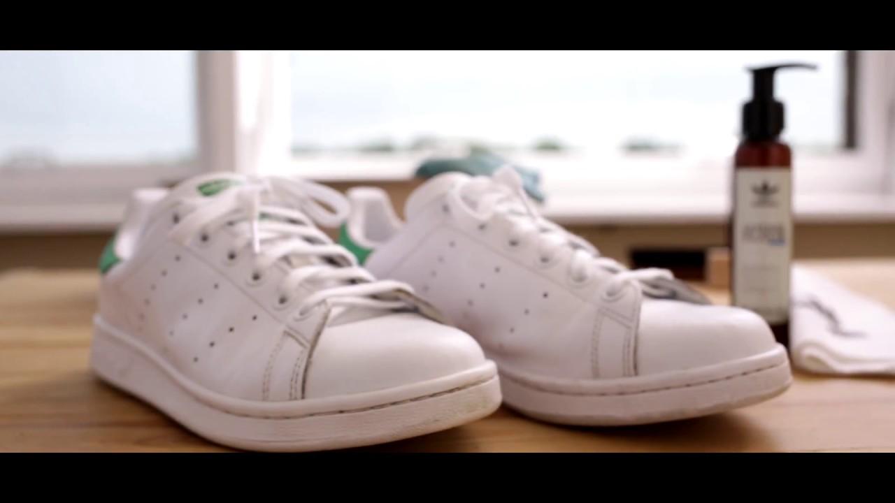 Adidas Stan Smith Reinigen Und Pflegen Mit Dem Sneaker Cleaner Youtube