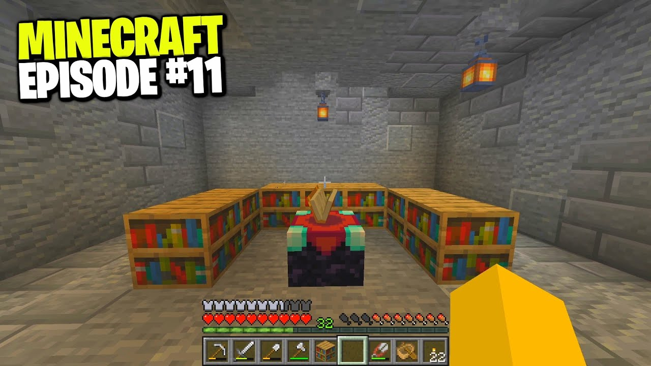 building my enchantment table room... (EP.11)