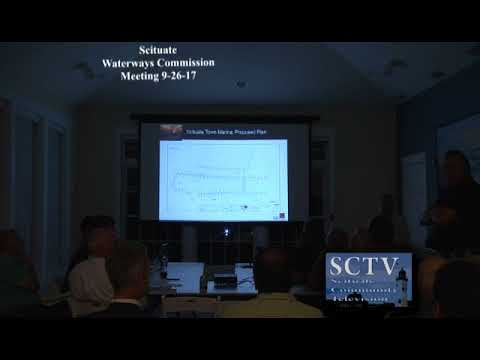 Scituate Waterways Commission Meeting 9-26-17