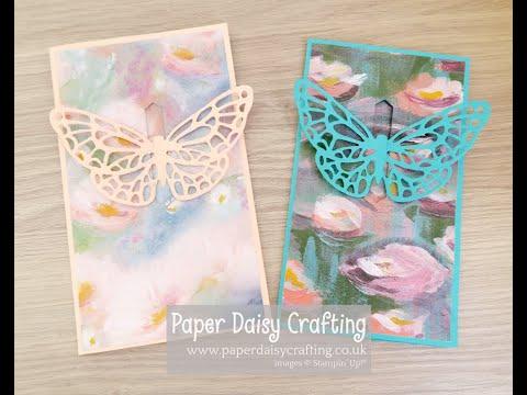 Springtime Impressions Pop Up Butterfly Card
