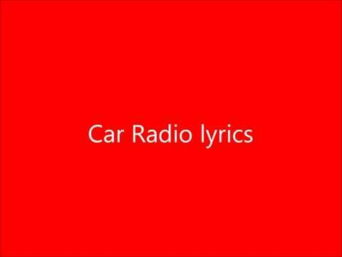 Car Radio lyrics - Twenty One Pilots