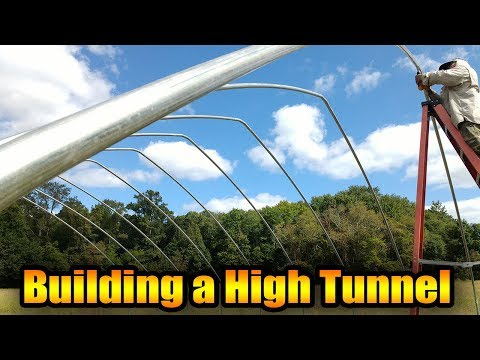 Building a High Tunnel