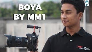 Boya BY MM1 - Budget Shotgun Microphone for DSLR/Smartphone