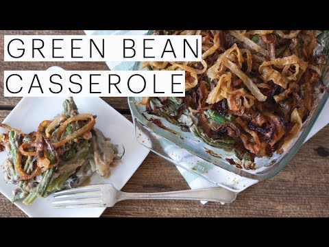 VEGAN THANKSGIVING Sides | Green Bean Casserole | Easy Recipe GLUTEN FREE | The Edgy Veg