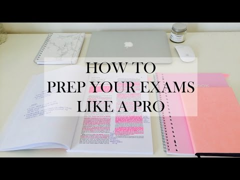 How To Prepare Your Exams Like a Pro - study tips