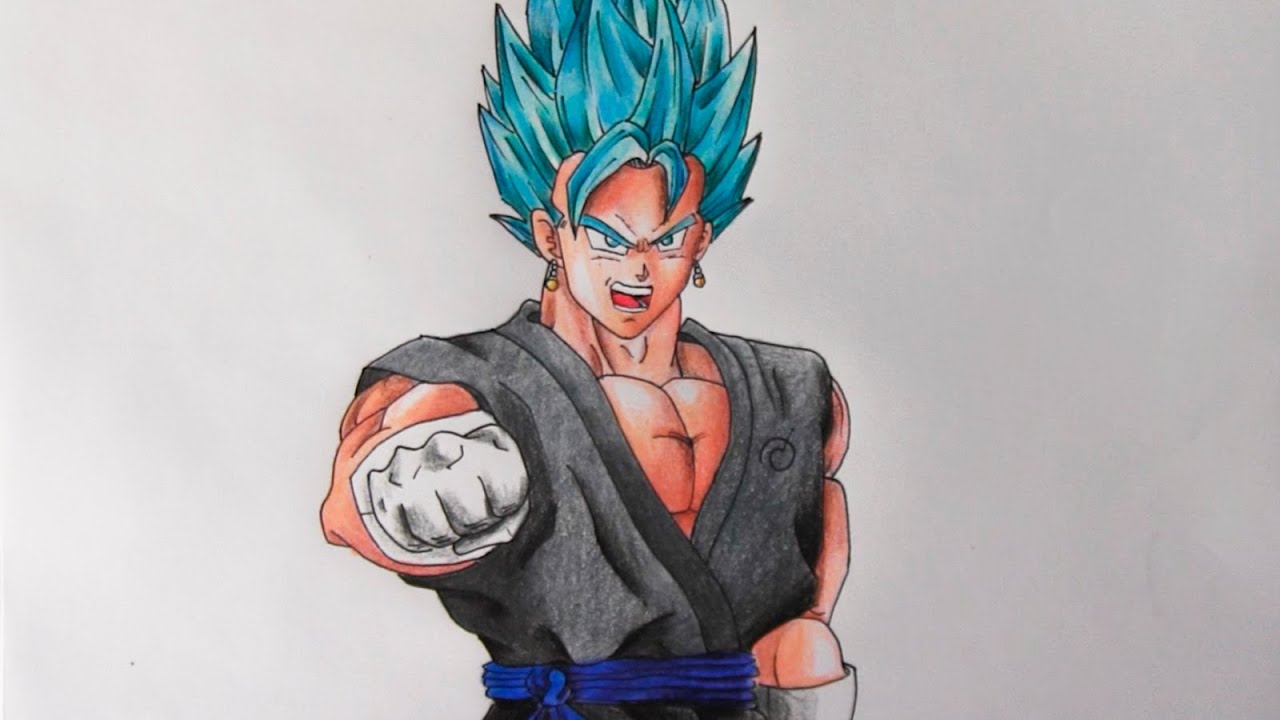 How to Draw Vegeta  Easy Drawing Tutorials