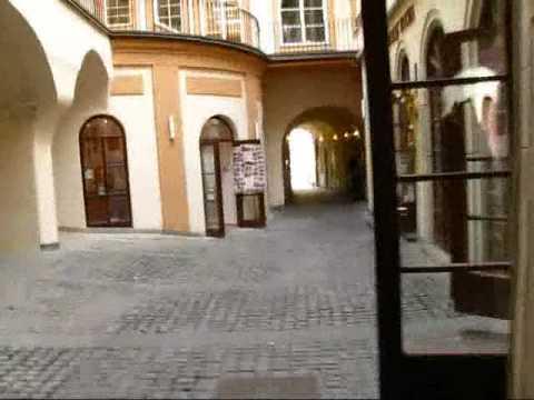 Prague Travel: Great Narrow Passageways in Historic Buildings