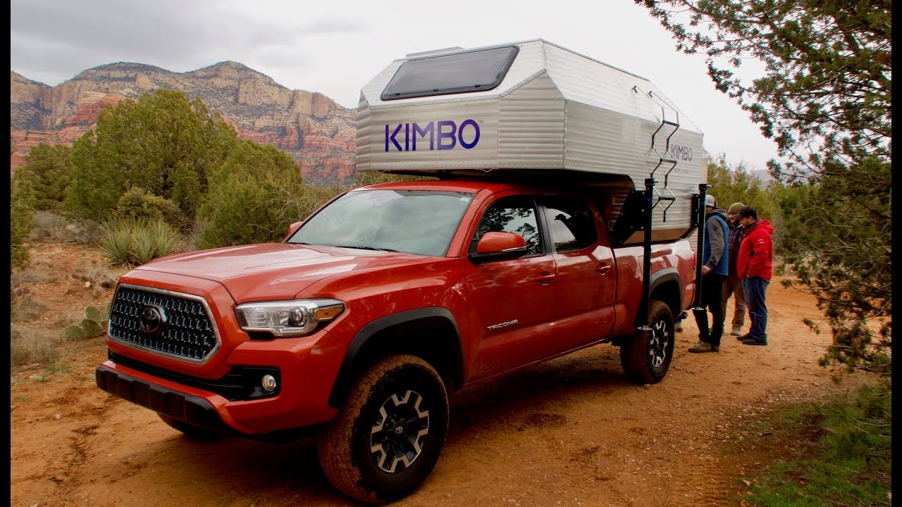 Kimbo Living 4 Season Camper For Toyota Tacomas