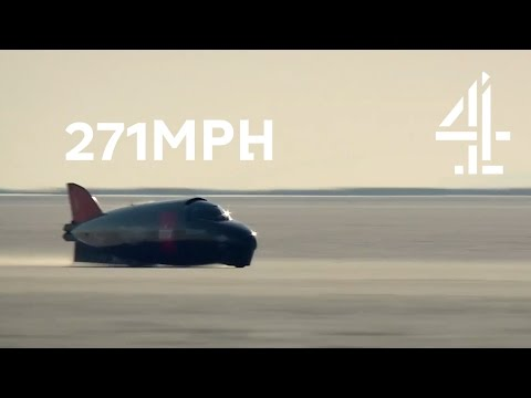 Speed Wobbles at 271mph on Bonneville Salt Flats, Utah | Speed with Guy Martin