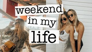 college weekend in my life: bff visits, college game day, shopping in atlanta