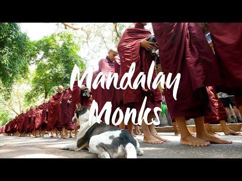 Trip to Burma - Mandalay Monastery Monks