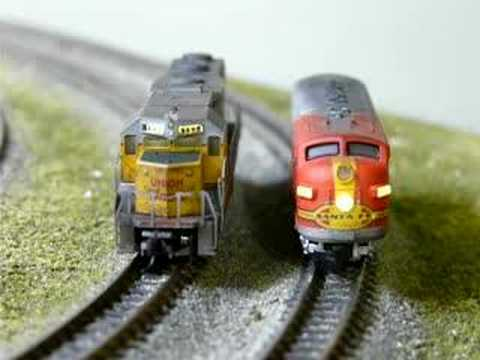 z scale model railroad | How To Build A Model Railway