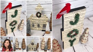 DIY CHRISTMAS VINTAGE DECOR IDEAS / SURPRISING DECORATING HACK TOO CUTE TO PASS UP