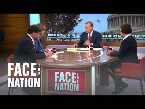 Face The Nation - Susan Glasser, Jonah Goldberg, Susan Page