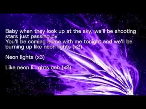 Neon Lights - nightcore (LYRICS)