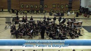Canyon High Band: Fallen, Fallen Is Babylon!