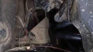Звук выхлопа после установки паука 4-1 на 124-й двигатель на Калине
