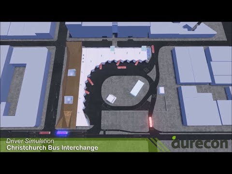 Christchurch Bus Interchange visualisation