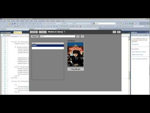 Visual Basic movie Database