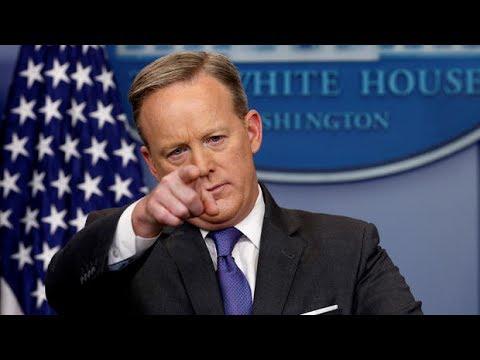 LIVE: Sean Spicer Press Secretary White House Press Briefing gaggle Stream 7-11-17