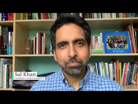 A message from Sal on school closures and remote learning on Khan Academy.