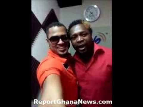 Van Vicker Chilling At the Studio With Big Brother Africa House Mates